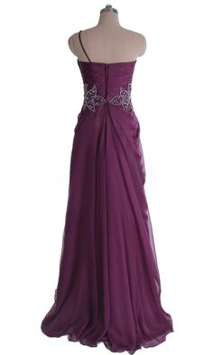 Long Bridesmaid Dresses Elegant Plicated One Shoulder Bridesmaid Dress DVP0300