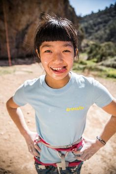 Ashima Shiraishi is recognized as one of the world's most talented young climbers of all time. At age 13, she became the first woman and youngest climber to send a sport route with a difficulty grade of 9a+ (5.15a), and became only the second female climber to successfully send a V14 bouldering problem.
