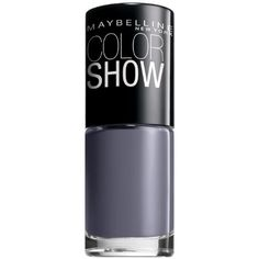 Amazon.com: Maybelline New York Color Show Nail Lacquer, Impeccable Greys, 0.23 Fluid Ounce: Beauty