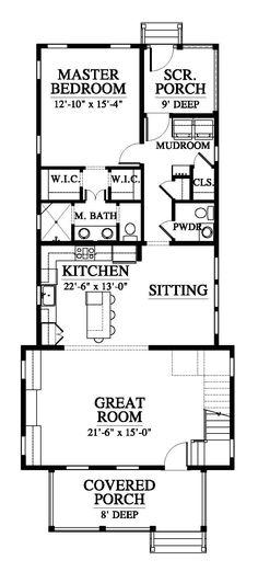 Manitou Modern Rustic Cabin Residential Floor Plan