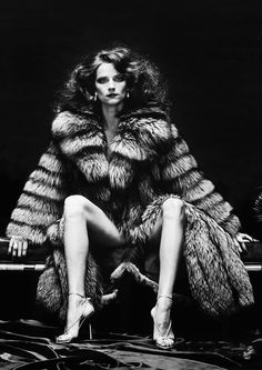 Photographer: Helmut Newton, Publication/Title: 'Venus in Furs', Date: Model/s: Charlotte Rampling, Designer/s: Unknown. Charlotte Rampling, Paolo Roversi, Peter Lindbergh, Museum Der Moderne Salzburg, The Night Porter, Newton Photo, Pin Up, Fashion Photography, Erotic Photography