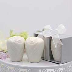 Bride Ceramic Salt & Pepper Shakers 10pcs