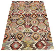 $500 Turkish Oriental Kilim Rug floor rug kilim ethnic kilim turkey kilim Handwoven kilim Decorative kilim large kilim rug bohemian kilim Y-266
