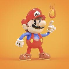 Tim Krakowiak 3D — Golden Age Mario