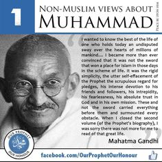 A non Muslim view about Prophet Muhammad