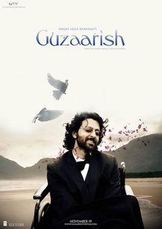 Guzaarish - Hrithik Hrithik Hrithik... loved you in this movie!