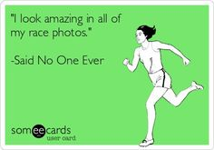 None of us ever look amazing in race photos, but we always hope that we will!