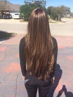 Elegant hairstyles for long hair 2018 Elegant hairstyles for long hair 2018 Beautiful Long Hair, Gorgeous Hair, Elegant Hairstyles, Pretty Hairstyles, Girl Haircuts, Hairstyles 2018, Straight Hairstyles, Hair Inspo, Hair Inspiration