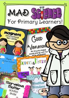 Mad Science for Primary Grades units to purchase