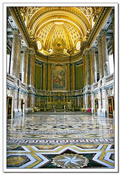 Reggia di Caserta - Caserta Palace, Italy. What magnificent place!!!