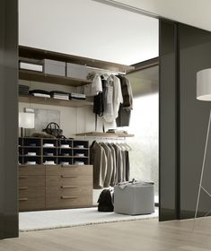 Walk in closets with style