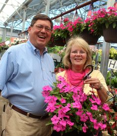 Jim & Cindy Webster welcome you to The Barn Nursery!