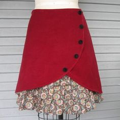 falda tulipan