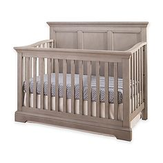 Add luxury to your nursery with the transitional style of Westwood Design's Hanley Collection. The Hanley 4-in-1 Convertible Crib features clean lines with an elegant headboard and a hardware system that's built right into the crib.