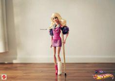 hot wheels barbie publicite