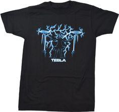 NIKOLA TESLA, MAD SCIENTIST   Unisex Science Engineering Geek Humor T-shirt (Adult, Medium) Ann Arbor T-shirt Company http://www.amazon.com/dp/B009SWDME2/ref=cm_sw_r_pi_dp_UnPVtb1B8AQ6PDH4