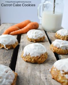 Amy's Cooking Adventures: Carrot Cake Cookies