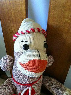Vintage Sock Monkey Vintage   eBay