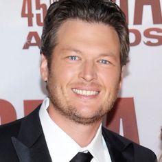 Blake Shelton!!! I'm so glad he won so many awards at the CMAS!