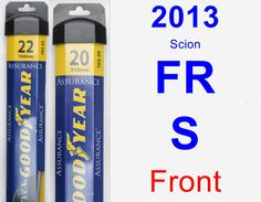 Front Wiper Blade Pack for 2013 Scion FR-S - Assurance
