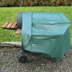 Un barbecue c'est bien, le protéger c'est indispensable. Optez pour une bâche PVC ajustée résistant aux intempéries. #outdoor