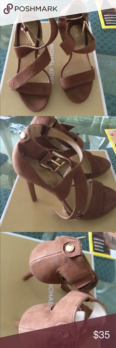 Michael by Michael Kors Suede Heels Neve worn, store display shoes. Shoes Heels