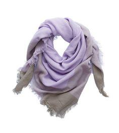 Soft Lavender Aerie Scarf