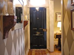 black door