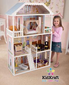 KidKraft Savannah Dollhouse. I wish I could find a gender-neutral Victorian dollhouse.
