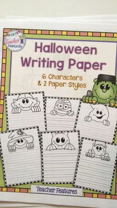*Halloween Writing* Let your students' imaginations run wild with this Halloween writing activity. Inside you will find 6 different characters and 2 line choices for each character. Perfect for Halloween creative writing!