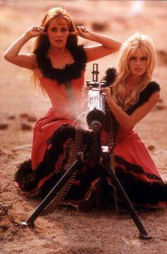 Jeanne Moreau and Brigitte Bardot in Viva Maria (1965)