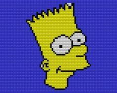 Bart Legos by drsparc on DeviantArt