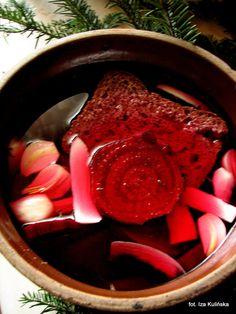 Kiszony barszcz czerwony - zakwas na barszcz | Smaczna Pyza Food And Drink, Canning, Meat, Dinner, Fruit, Drinks, Breakfast, Ethnic Recipes, Polish Food