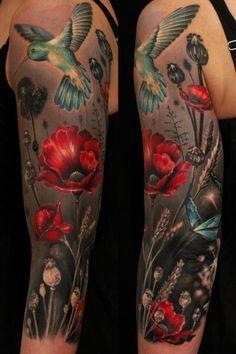 Ellen Westholm   red poppies
