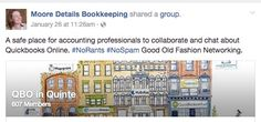 Looking for a safe place to collaborate with Accounting Professionals to gain insight of #Quickbooks #Online?