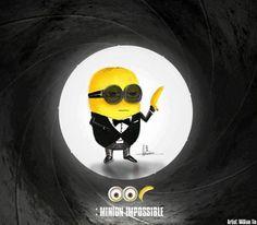 minions - Agente 007