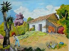 Fausto Pacheco Costa Rica, Where The Heart Is, House Painting, Old Houses, Home Art, Gabriel, Watercolor, Landscape, Drawings