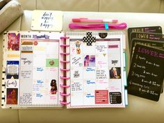 MAMBI Create 365 Happy Planner - Fitness Planner March spread