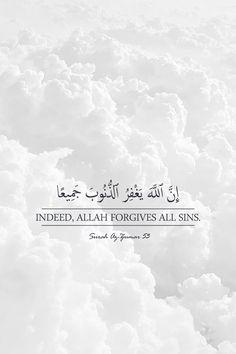 Forgiveness Quotes, Allah Quotes, Muslim Quotes, Arabic Quotes, Mercy Quotes, Faith Quotes, Words Quotes, Sayings, Quran Wallpaper