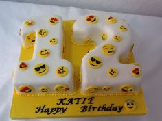 Emoji cake by Cupcake Magic