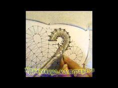 2. Плетение вилюшки, без комментариев. - YouTube Hairpin Lace Crochet, Crochet Motif, Crochet Shawl, Crochet Edgings, Bobbin Lace Patterns, Bead Loom Patterns, Lace Earrings, Lace Jewelry, Bobbin Lacemaking