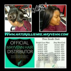 Vixen Sew-in done with Mayvenn Virgin Hair Order yours today Www.naturalliemie.mayvenn.com  Naturallie.Mie by Erin P.  Book your appointment at www.styleseat.com/erinpippen Or call me at ( 205 ) 401-0726