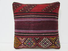 kilim pillow outdoor pillow cover bohemian by DECOLICKILIMPILLOWS