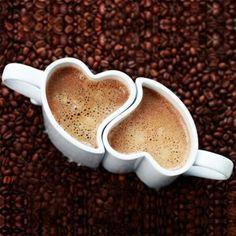 Duo Tasses Romantiques Coeur