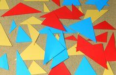 Psicogrammatica Montessori: giochi logici per l'aggettivo Diy Montessori, Quilts, Crafts, Comforters, Patch Quilt, Kilts, Log Cabin Quilts, Quilting, Quilt