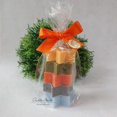 Weihnachtsseife Geschenkset Seifensterne Florex Schafmilchseife Weihnachtsgeschenk Winterzauber /& Schneerose