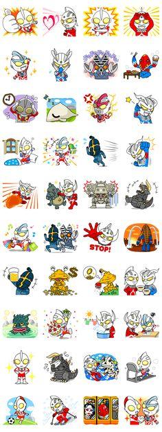 画像 - ULTRAMAN: Heroes & Monsters by BANDAI NAMCO Games Inc. - Line.me