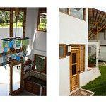 Casa Calvo – :: Zuarq :: Bamboo House Design, Bamboo Building, Building Design, My House, Wordpress, Mirror, Concept, Furniture, Home Decor
