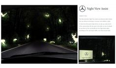 Mercedes Night View