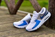 fb40a28a4fa5d Men Nike Air Max Zero Wolf Grey White Blue Lagoon